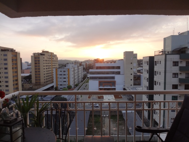 Beautiful Sunrise this morning December 19- 8 months living in Brazil :)
