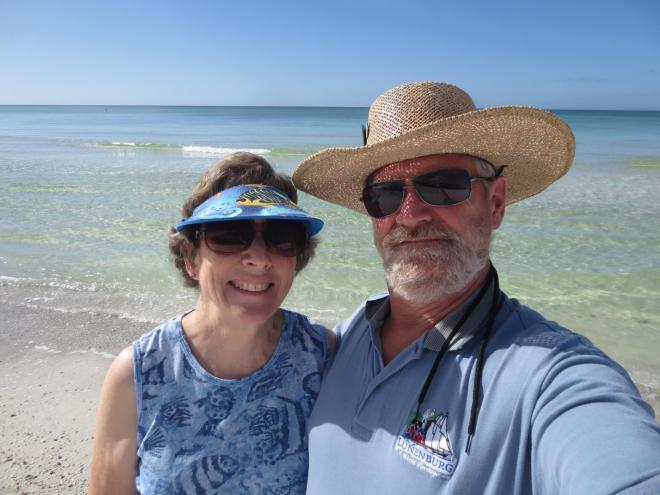 David's parents in Florida December 2012