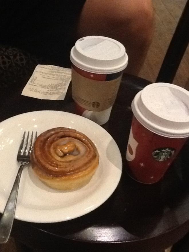 Starbucks treats! YUM