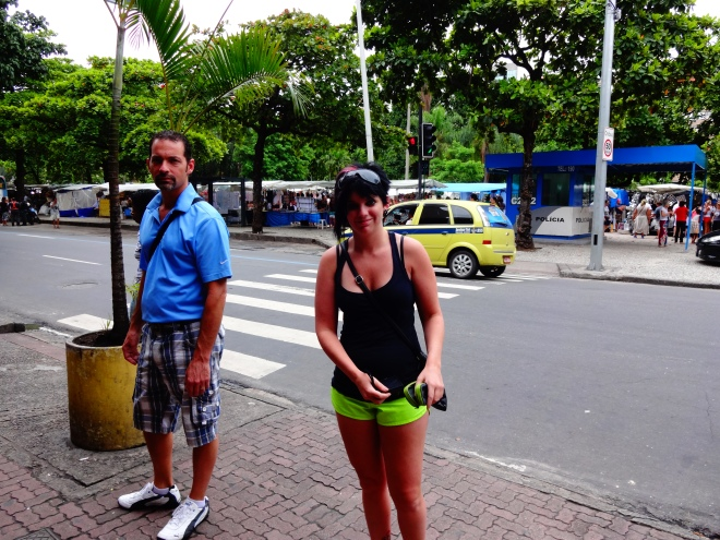 Going to the Sunday Hippie Market in Ipanema