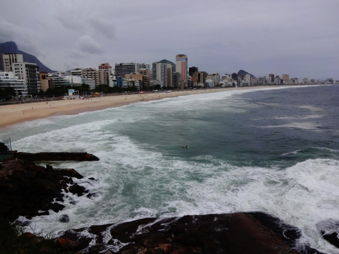 Great view of Ipanema Beach