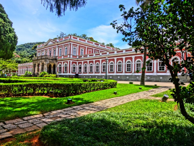 The Beautiful Imperial Palace Museum in Petropolis