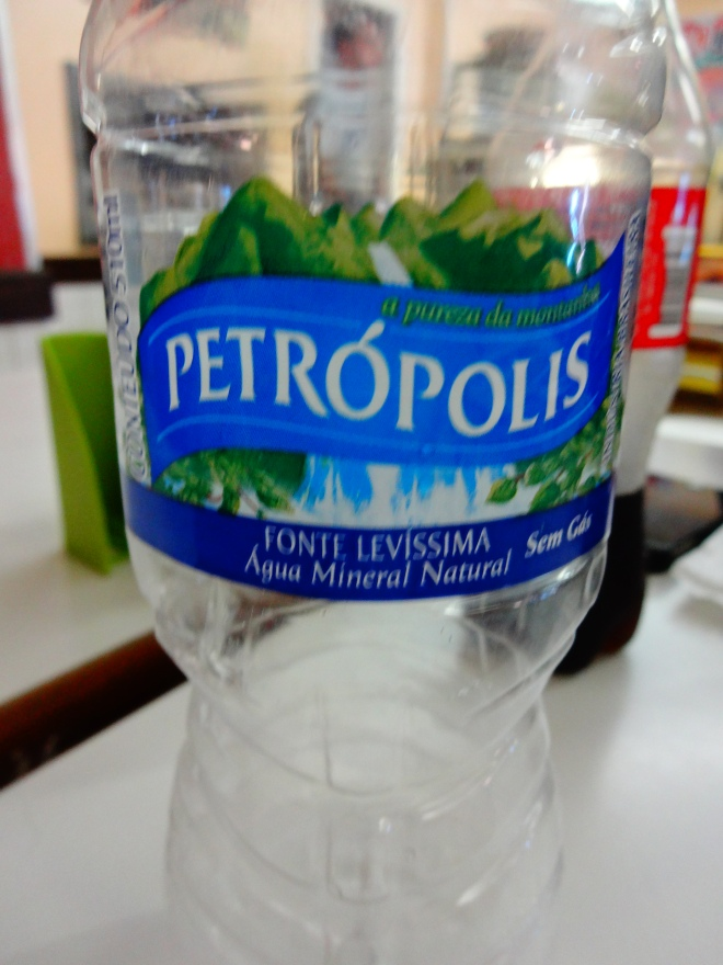 Petropolis has its own water! :)