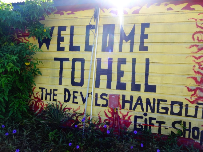 Visited a town called HELL