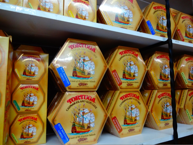 Famous Tortuga Rum cakes in a variety of flavors