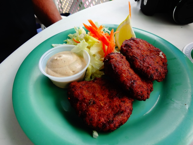 Conch Fritters! Yum :)