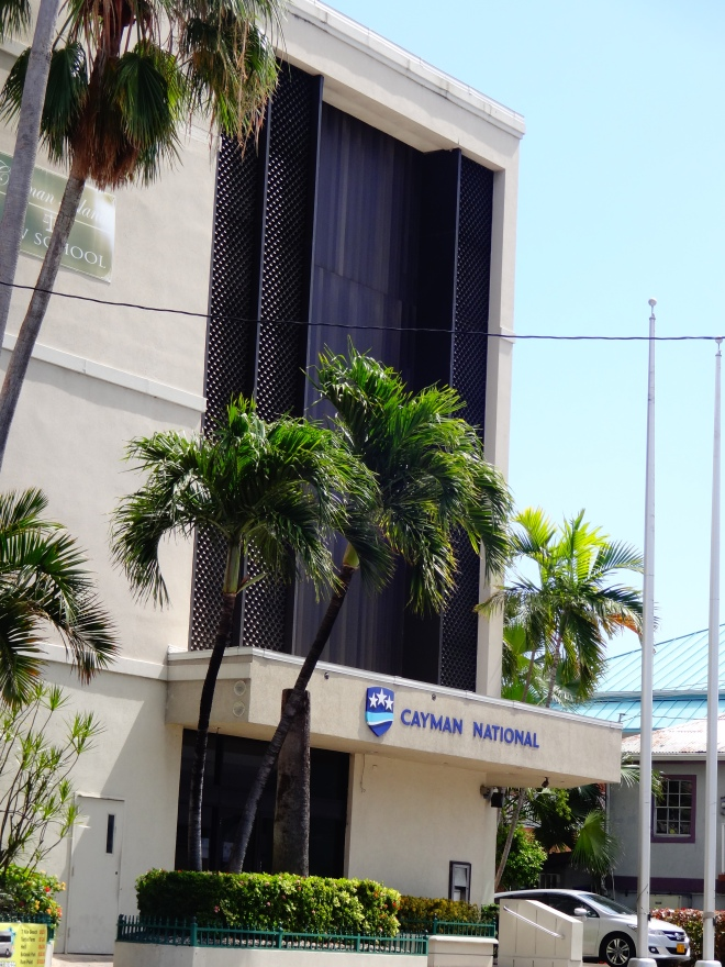 Cayman Bank, one of MANY!