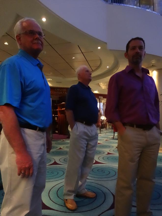 Peter, Harold & David