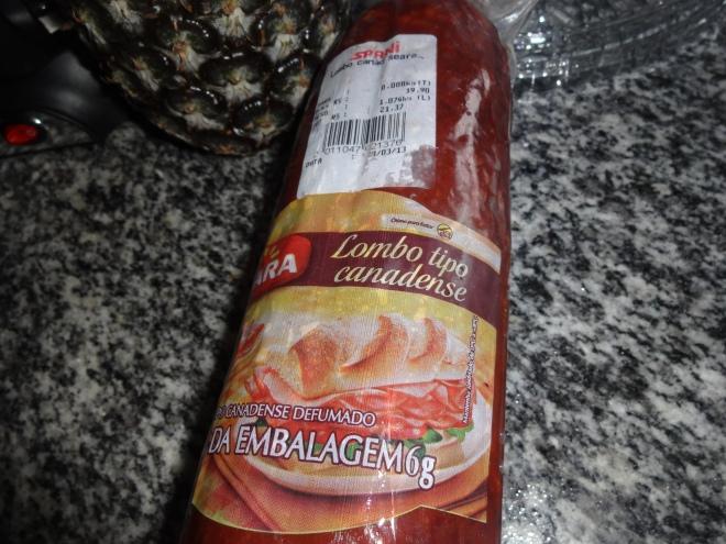 Canadian smoked ham :)