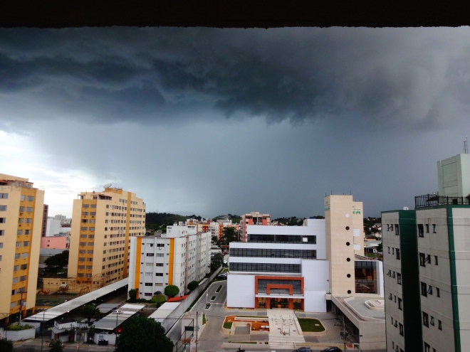 Cool skies in Resende