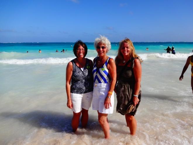Angela, Barb & I