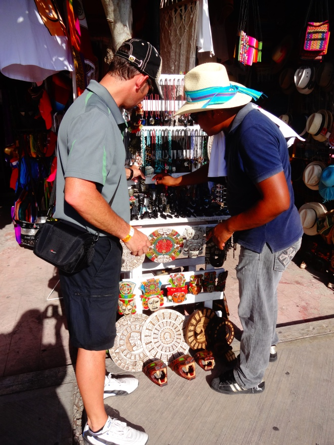 Mayan souvenirs?
