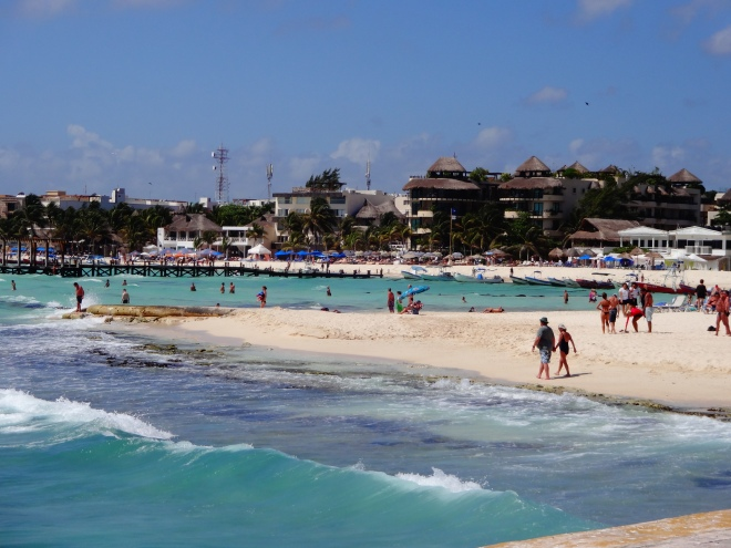 Playa del Carmen has some beautiful resorts right on the beach