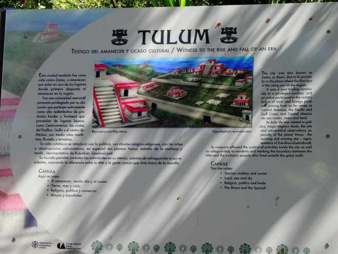 Time to explore the walled city of Tulum