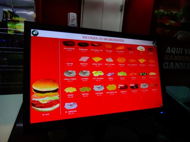 Custom Building a burger