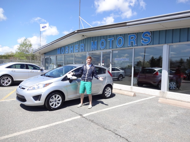 James' BRAND NEW 2013 Ford Fiesta! So exciting!