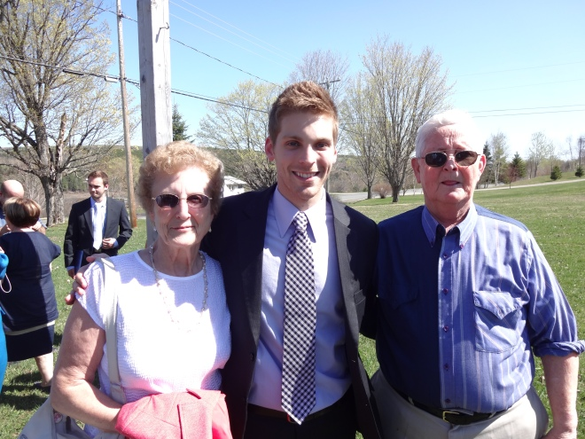 James with Nana & Papa