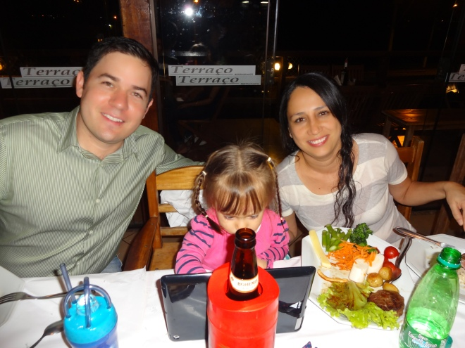 Hector, Marcella & their daughter Sofia