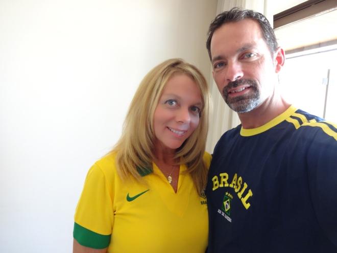 Brasil National colors