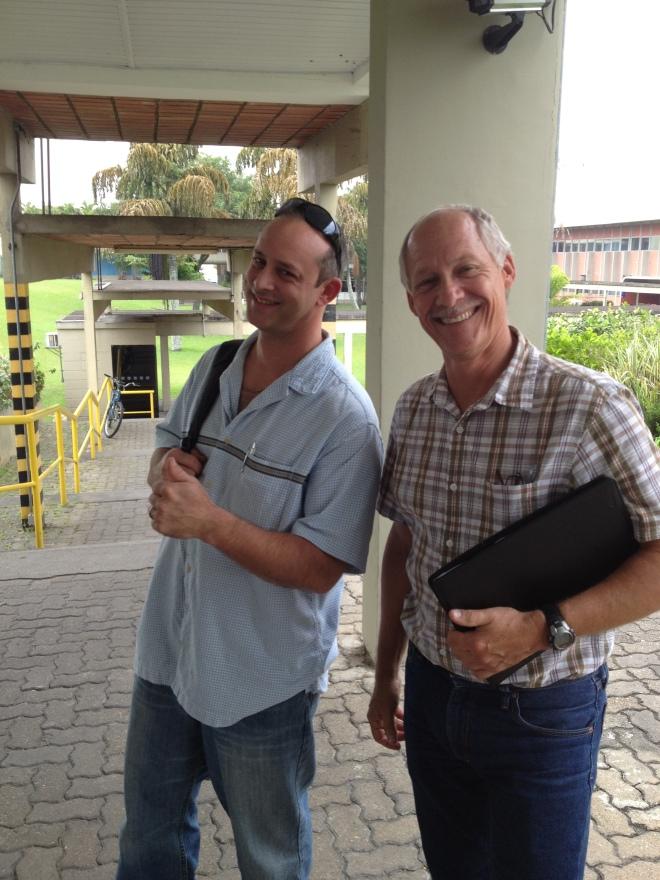 Glen & Steve all smiles!