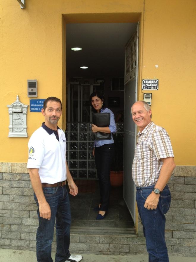David, Ana Paula (Michelin) & Steve