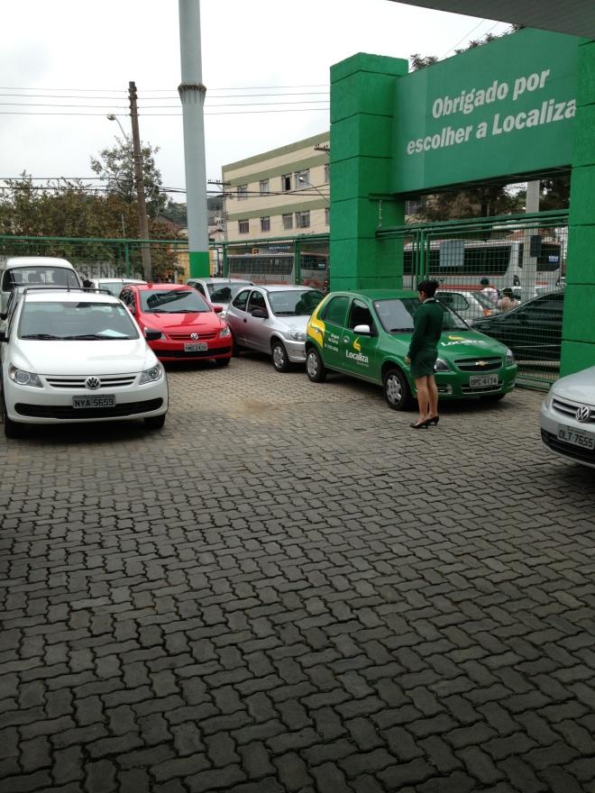 Goodbye little red car... :)