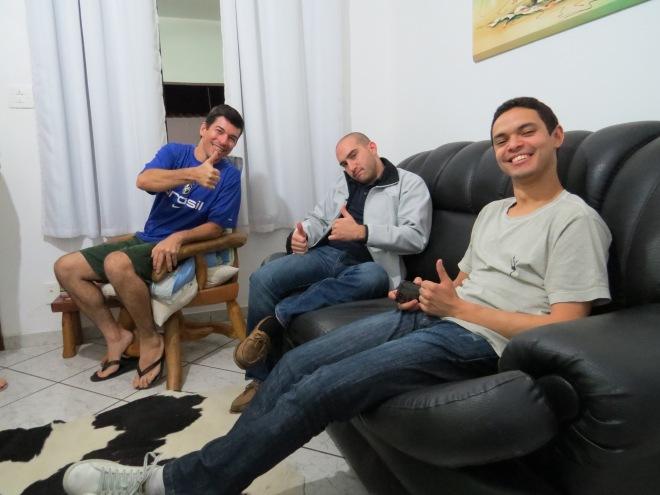 Eduardo, Jimmy & Thiago