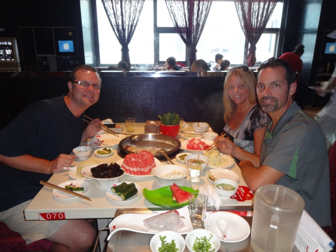 Hot pot lunch with Tim. Great time catching up!