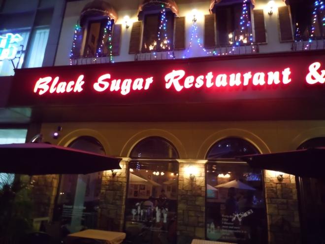 Black Sugar for Dinner