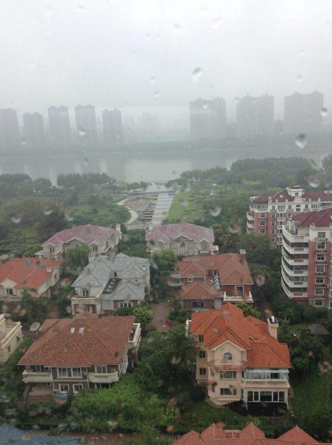 Rainy Sunday in Shenyang