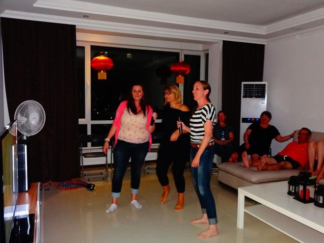 Angie, Francesca & Kim