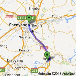 Benxi Adventure For Two - Benxi map