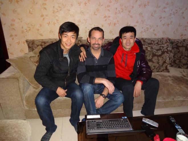 Wang Zhi Cao, David & Yan Bing