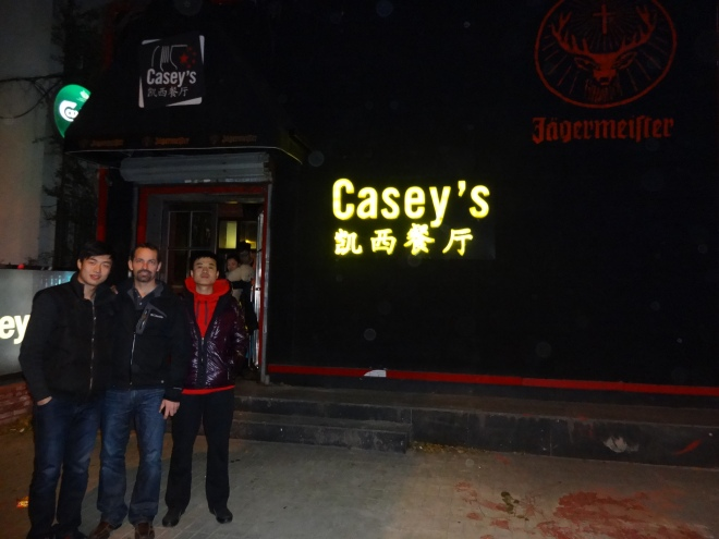 Where in Shenyang for great burgers? Casey's of course!