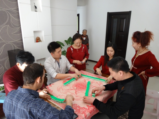 Family Game of Mahjong