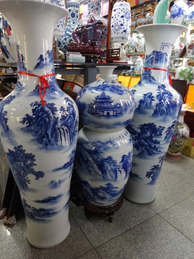I love the blue & white porcelain from the Ming & Qing Dynasty eras