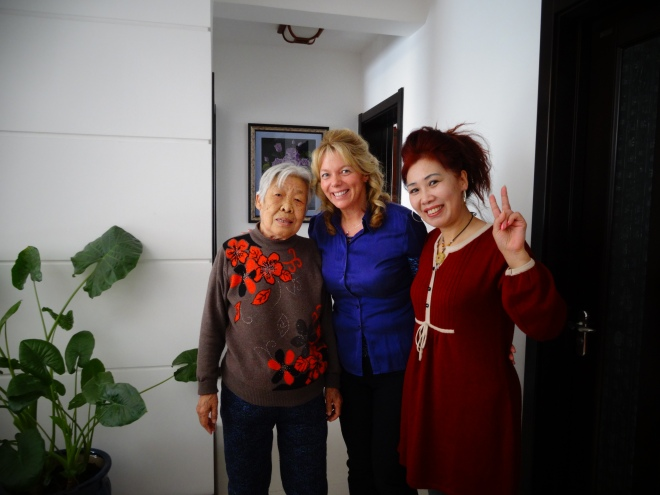Me and Wei Yao Yu with her Mother