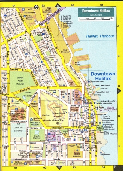 MAP - Downtown Halifax